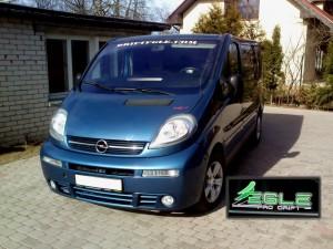 DRIFT EGLE Opel Vivaro ar 2.5dCI Chiptuning