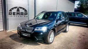 BMW X3 F25 Čiptunings, DPF atslēgšana, EGR atslēgšana